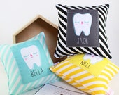 Personalised Tooth Pillow Cushion Tooth Fairy