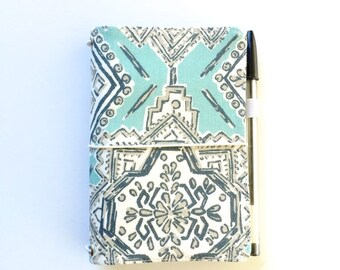 Field Notes Midori Fauxdori Travel Journal Fabric Travelers Notebook Fox Faux Dori A5 Midori Travel Diary Moleskine Cover Passport Cover