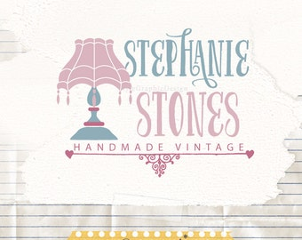 Vintage Boutique Logo - Vintage Logo Design - Logo Watermark - Pre made logo design