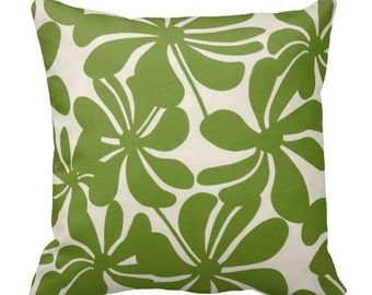 outdoor pillows, green outdoor pillow covers, floral outdoor pillows, outdoor pillow covers for couch, green pillows, outdoor cushion cover