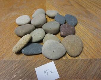 15 Large Beach Stones Kid Crafts Paint Rocks Do It Yourself Craft Rocks