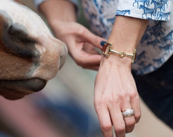 Horse bracelet Equine jewelry derby Bracelet equestrian jewelry womans gifts