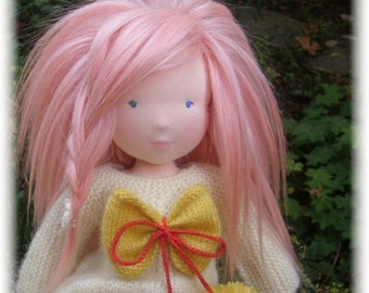 RESERVED Custom Waldorf doll 19 inches