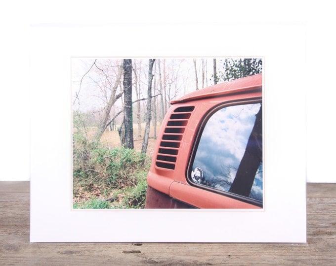 Original Fine Art Photography / Volkswagen Photography / VW Gift / Signed Photography / Film Photography Prints / Color Photography / Matted