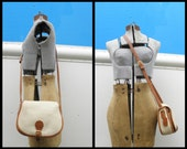 COACH Vintage USA Leather White LEATHERWARE Handbag 000-3109