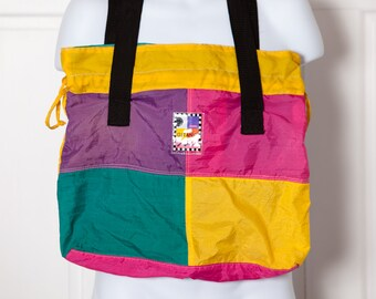 Vintage 80s 90s Colorful bag - GITANO