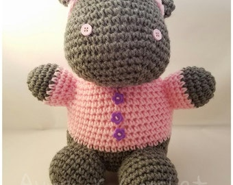 Crocheted Amigurumi Hipo