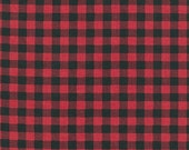 Red Plaid from Robert Kaufman's Burly Beaver Collection by Andie Hanna - scheduled to ship Mid-October