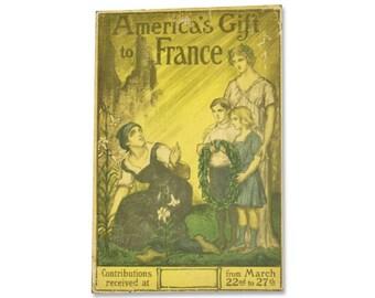 Original WWI lithograph
