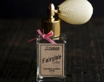 Fairytale Mist - Cotton Candy Lace Perfume - Vanilla Cream - Atomizer Bottle -1 oz