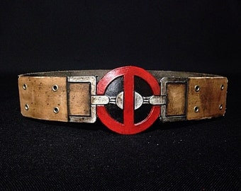 Deadpool Inspired Costume Belt