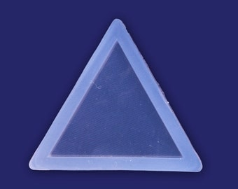 1 Pcs transparent silicone mold for jewellery Diy, triangle mold 10103857