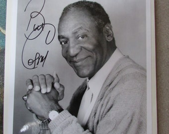 Vntg Bill Cosby AUTOGRAPHED Authentic Photograph