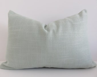 Aqua Pillow Cover, 12x18 Pillow, Pillow Cover, Accent Home, Accent Pillow Cover