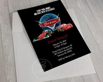 Cars 2 Invitation