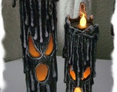 Halloween Evil Twins Tea Light Candles