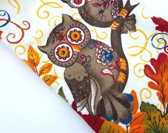 Crochet Kitchen Owl Hanging Dish Towel Crochet Top Towel Decoration Owl Decor