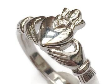 Locket Claddagh Ring