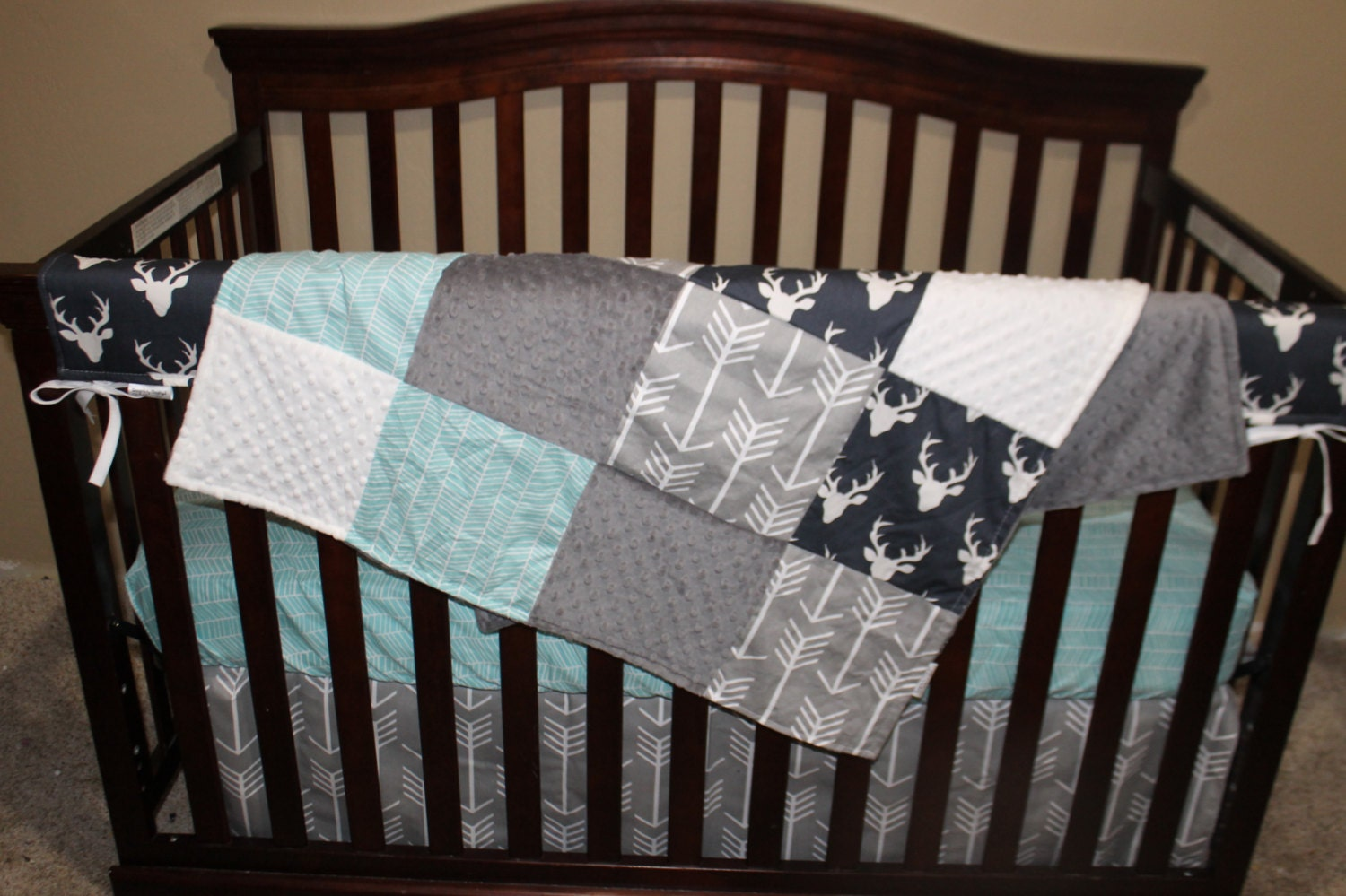 Baby Bedding Navy And White