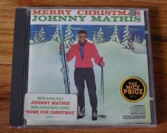 Johnny Mathis MERRY CHRISTMAS original CD easy listening