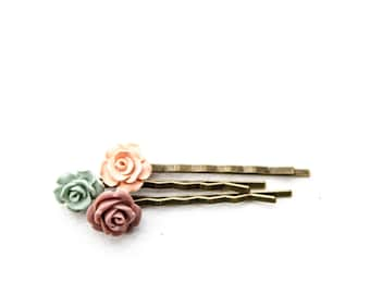 Flower Bobby Pins -3