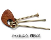 Fashion Style Accessories TAMPER & CLEANING Tools for Tobacco Smoking Pipe . Handmade .....LIMITED Edition.....