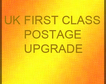 UK First class postage upgrade