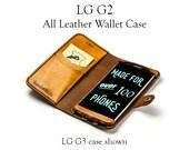 LG G2 Leather Wallet Case...