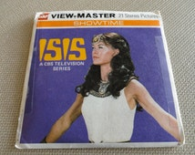 C135)  Vintage GAF View Master Reel Original Packet Set ISIS