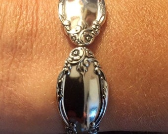 Enchantment / London Town 1952 Spoon Bracelet