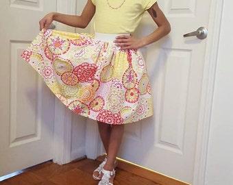 Color Burst Full Skirt