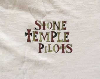 original STONE TEMPLE PILOTS shirt - 1996 - Size Large/ Extra Large