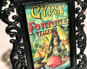 Gypsy Fortune Teller art