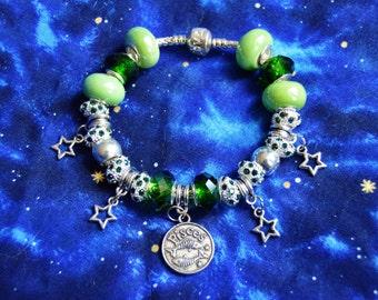 READY TO SHIP, Zodiac Pisces Bracelet
