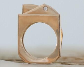 Radar Diorama Ring Set