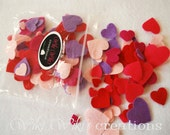 Mixed Heart Confetti - Pack of 125 - READY TO SHIP!