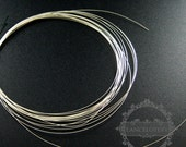 1meter 28gauge 0.3mm solid 925 sterling silver high quality beading jewelry wire supplies wiring DIY jewelry supplies findings 1505008
