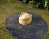 trilby fedora hat crown, unusual
