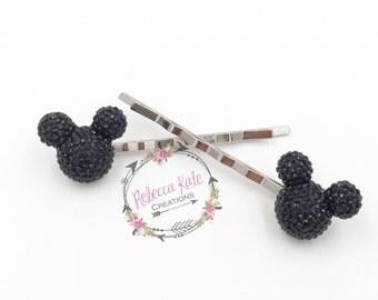 Mouse Inspired Bobby Pins/Hair Pins/Disney Hair