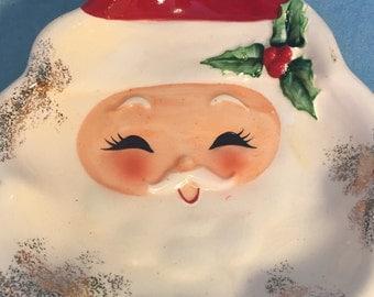Santa Face Candy Dish