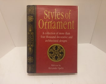 Styles of Ornament by Alexander Speltz -  1994, 644pp, HC, DJ, Fine - 6000 years of Ornamental design captured in one book