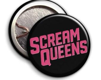 Scream Queens - KKT - Button Badge / Pinback - 25mm 1 inch - Tv Series