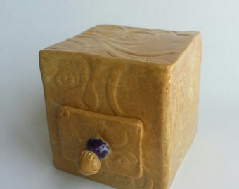 Ceramic boxes with Drawers