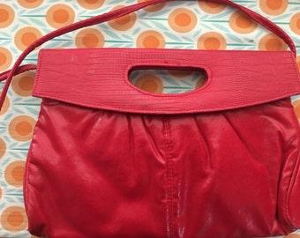 Red Vintage Purse 1980