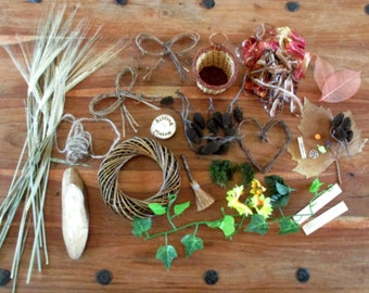 Make Your Own Mabon Harvest Thanksgiving Gifts & Decorations. Full Craft Kit.