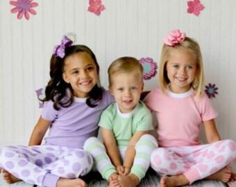 spring pjs, spring pajamas, monogrammed pjs, children pajamas, girls spring pajamas, boys spring pajamas, kids pajams, childrens pajamas