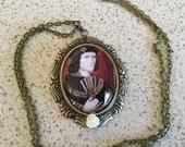 Richard III Portrait Pendant Necklace