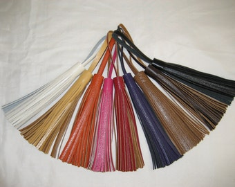 Deluxe Leather Tassels