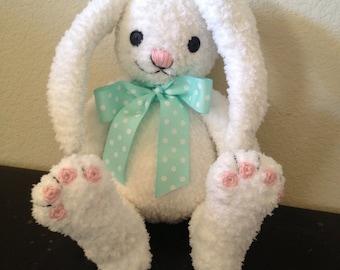 Big Bunny Buddy Crochet PATTERN Plush Amigurumi for Easter