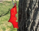 Batman Batarang Key Chain, Red Hood